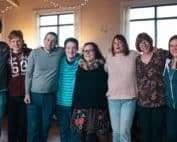 Team of 8 onGlasgow Trip