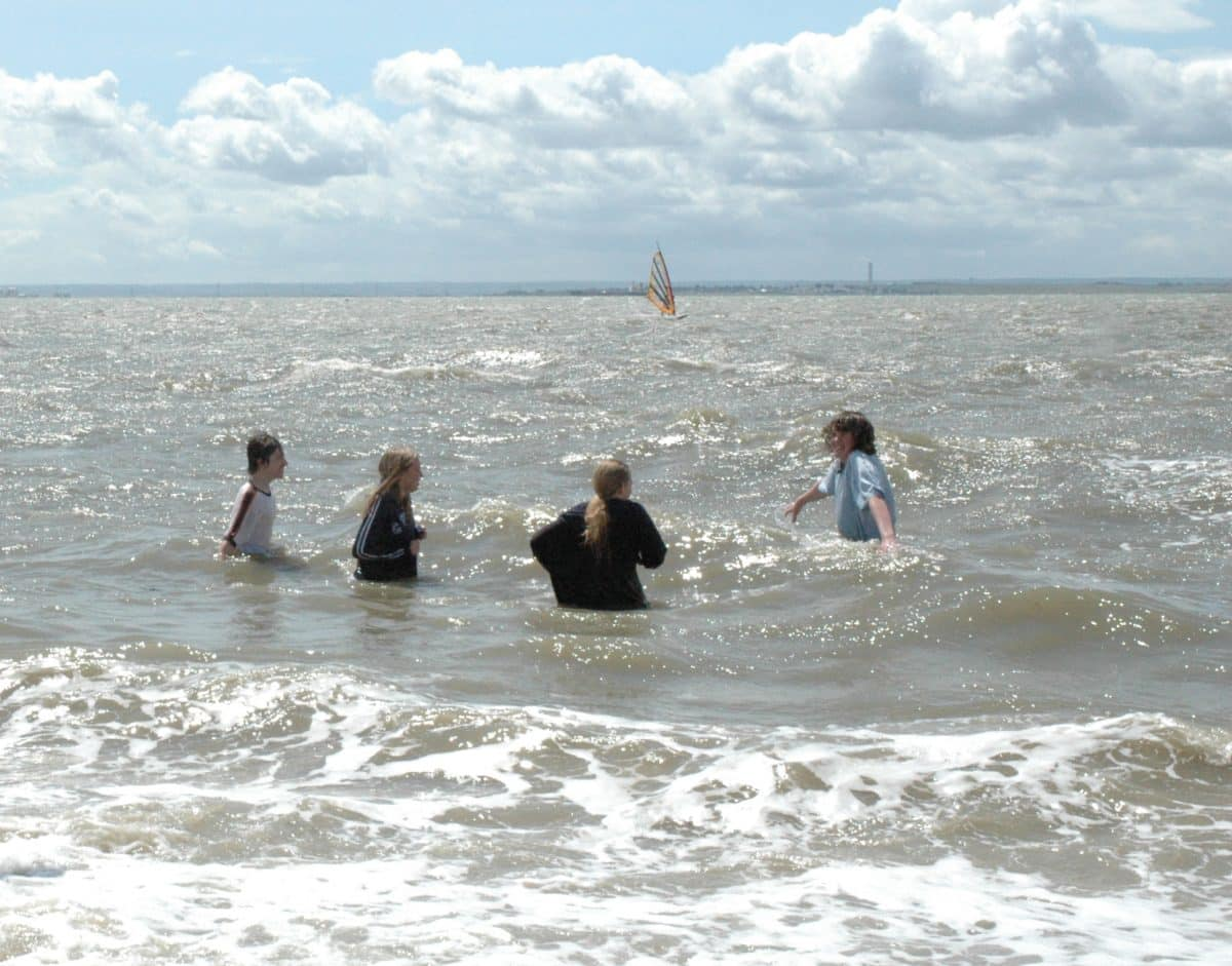 Baptisms at Westcliff in 2004
