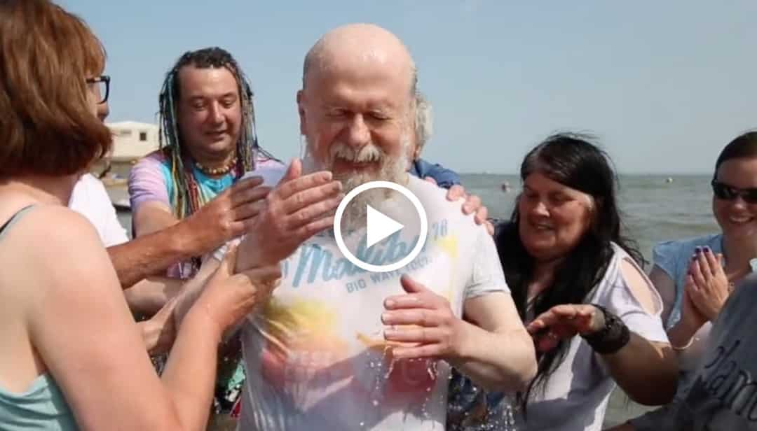 Video: Christina, Tim and Tony get baptised!