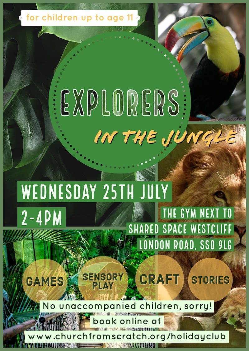 Holiday Club Flier front