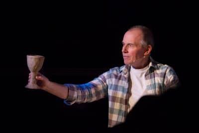 Howard Jones performs the Gospel of Mark