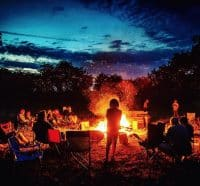 Fire light at Fire Camp