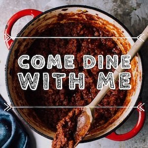 Come dine with me - logo