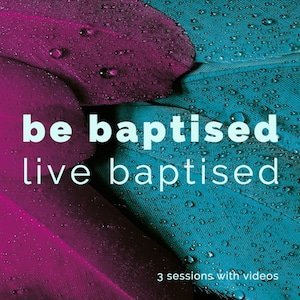 Be baptised logo