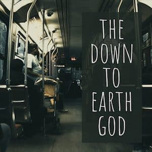 The down to earth God - logo