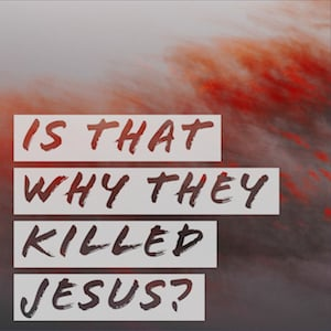 Is that why they killed Jesus logo
