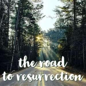 Road to resurrection - logo