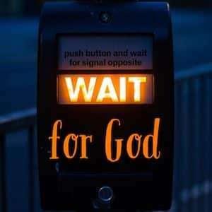 Waiting for God - logo
