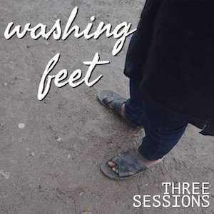 Jesus washed their feet - logo