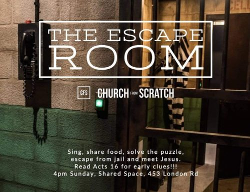 20 January: Bless Gathering 'The Escape Room'