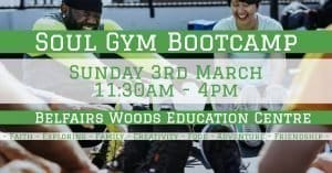 Soul Gym Boot camp Leaflet