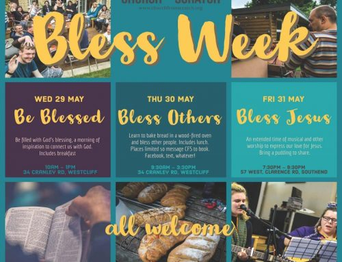 29-31 May: BLESS – a week of discipleship, community and mission