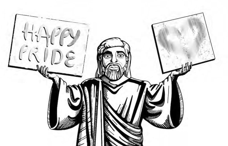 Southend Pride Jesus