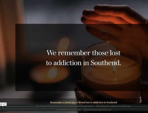 In the silence we remember those lost to addiction in Southend