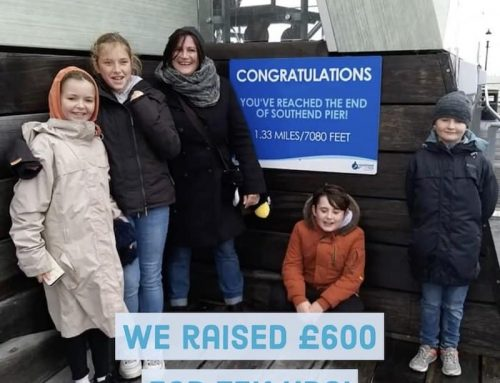 Sponsored walk raises £600 for Tek Ura