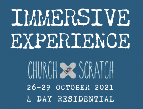 4 day Immersive Experience for church leaders