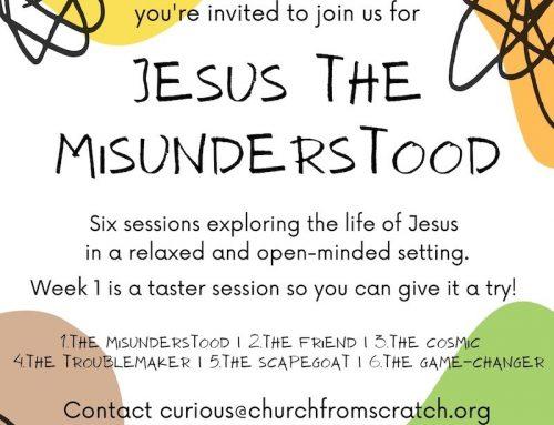 Jesus the Misunderstood in 6 sessions