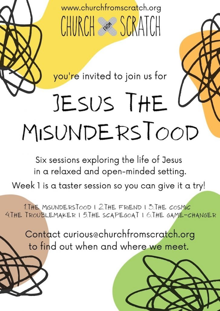 Jesus the Misunderstood flier